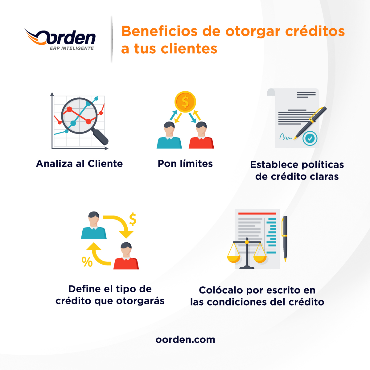 beneficios de dar creditos