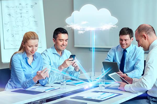 equipo de trabajo nube